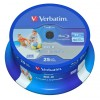 EUR 12.29 - Verbatim DataLife Blu-ray Disc BD-R 25 GB / 135 min 6x, Full printable, 25 pieces in cakebox