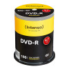 EUR 16.99 - DVD-R 4,7 GB Intenso 16x Speed in Cakebox 100-pack